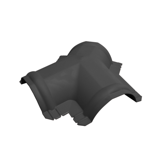 Raccord Y Gris Anthracite, RAL 7016