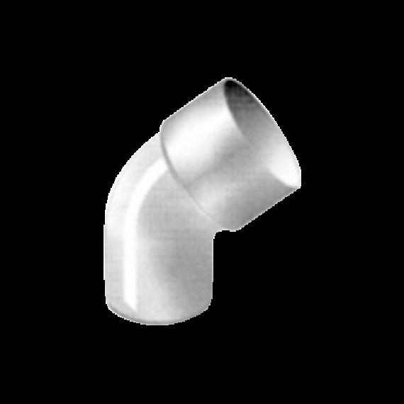 Coude de Déscente 87° Ø 80, épaisseur 3.2  mm