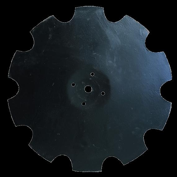 Disque crénelé diamètre 560 mm pour déchaumeur à disques Beiser