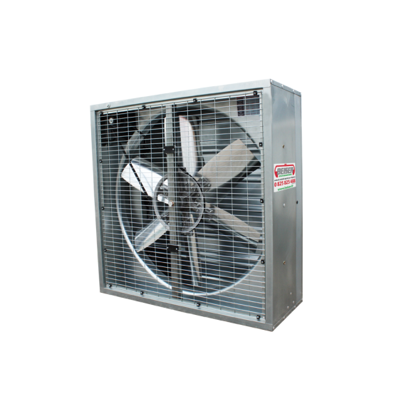 Ventilateur grand volume 122 cm X 122 cm X 40 cm