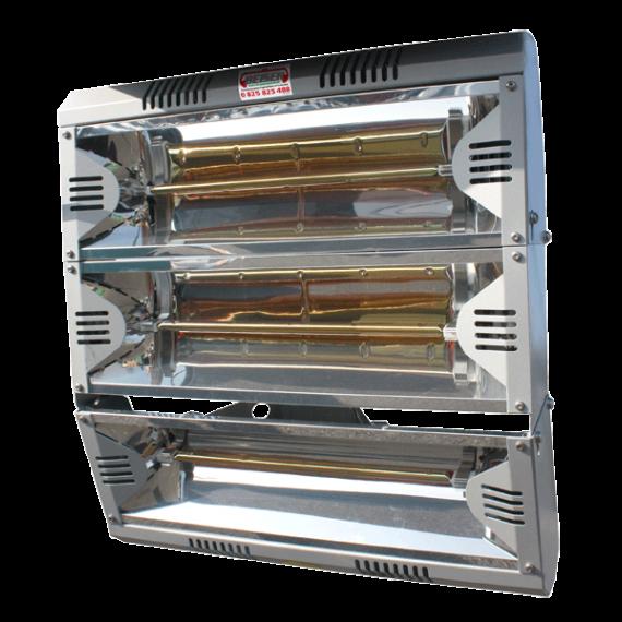 Lampe chauffante 3 x 2000W - 230/400 V