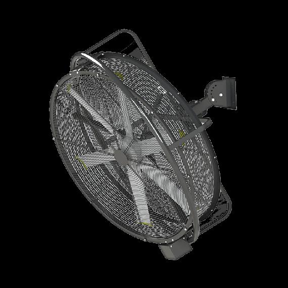Ventilateur à suspendre Extracteur d'air rotatif de 1450mm