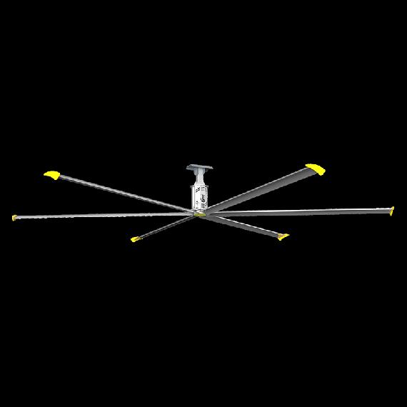 Ventilateur de plafond extracteur d'air 380V - 13100m3/min