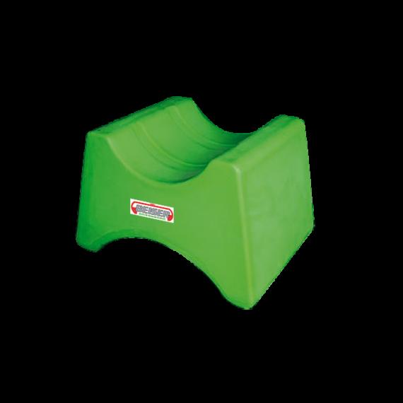 Support 1 fût réversible en plastique PEHD - 60/208 L