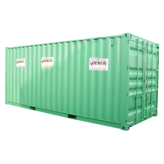 Container maritime 1er voyage 20 pieds dvv containers de for Batiment container