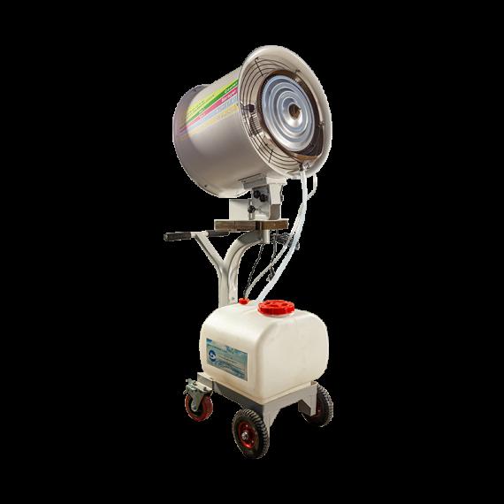 Brumiventilateur oscillant 220V 60L 3 vitesses
