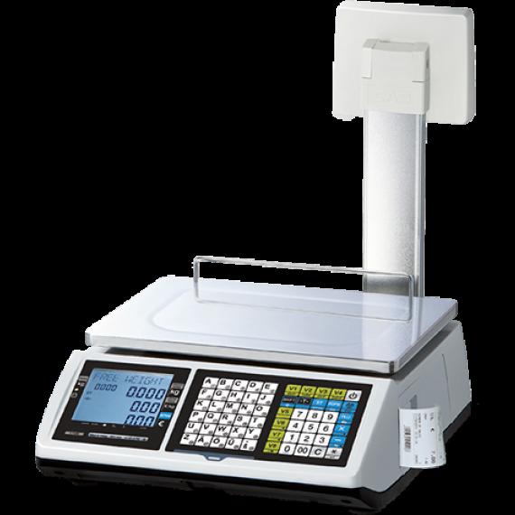 Balance commerciale à ticket, module fiscal intégré (colonne, 15/30KG, précision 5/10G)