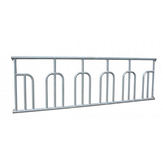 Barrière à arceaux - 4 m / 5 places