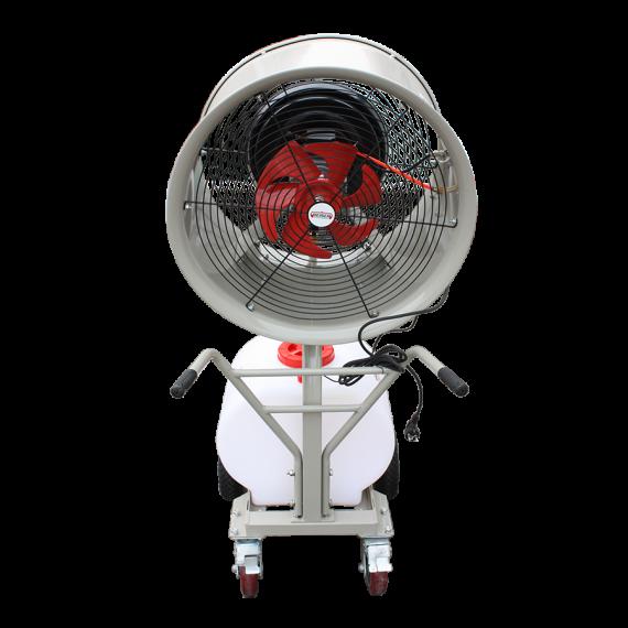 Brumiventilateur 750W/220V 11000m3/h 60L
