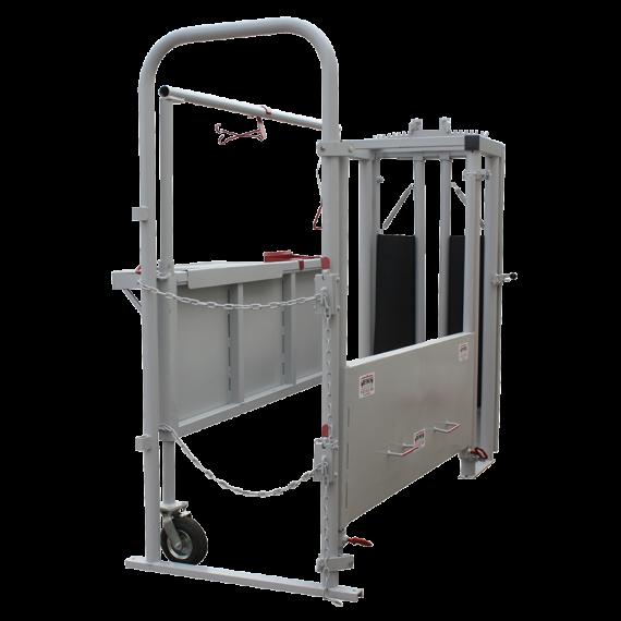 Cage à césarienne avec panneaux latéraux réglables