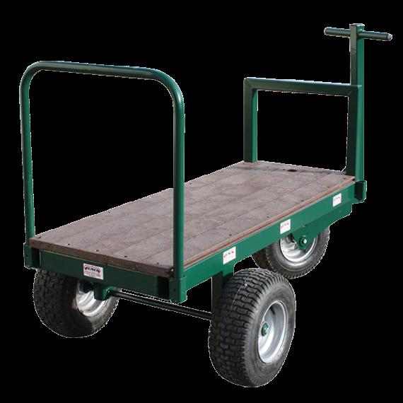 Chariot à fourrage 3 roues 1.60m