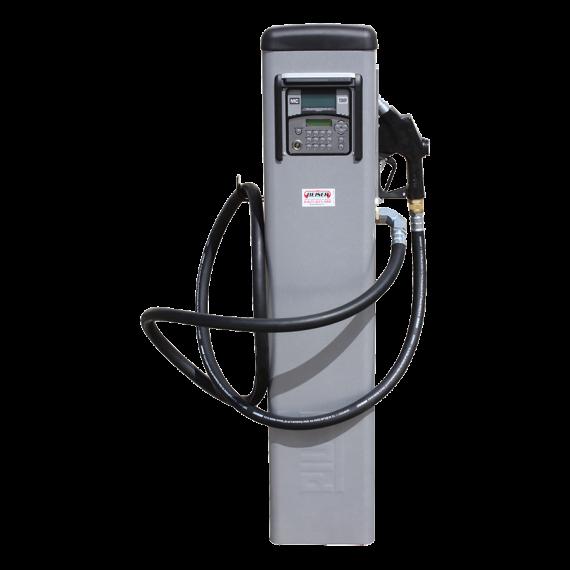 Distributeur de fuel à badges sur colonne 90L/min