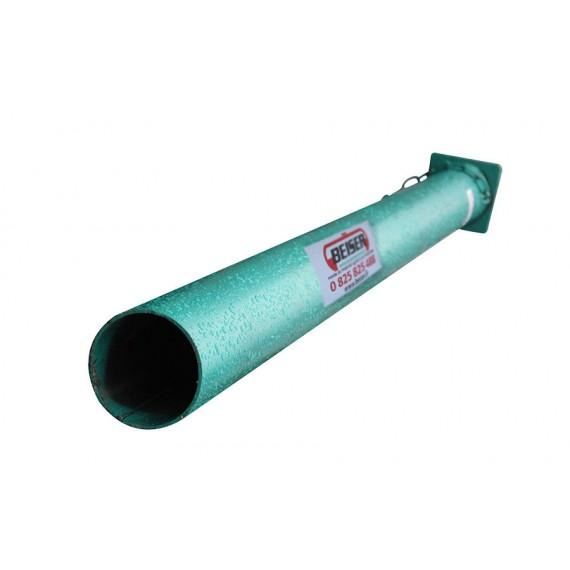 Guide pour enfoncer les piquets PVC de 2,50 m - longueur 1,80m