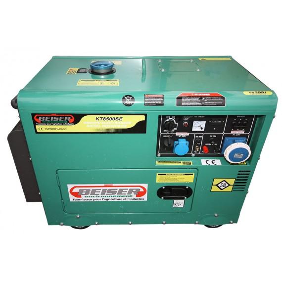 Groupe électrogène Diesel insonorisé 7 kW monophasé 220V