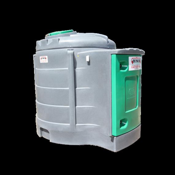 Station fuel verticale double paroi PEHD 2500 litres