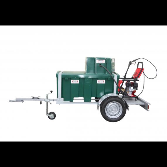 Pack nettoyeur haute pression essence 500 L sur chassis agraire Modèle 2018