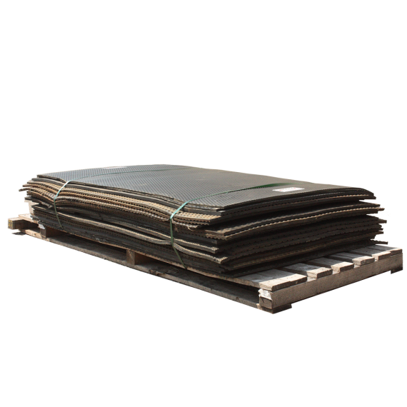 Tapis de mine d'occasion sur palette 2.4m x 0.98m (20 pièces)