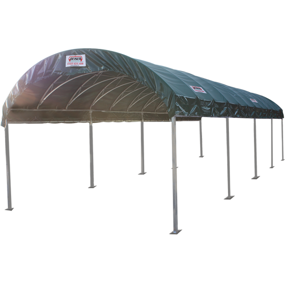 Structure modulabri 4 m x 6 m et bâche de couverture