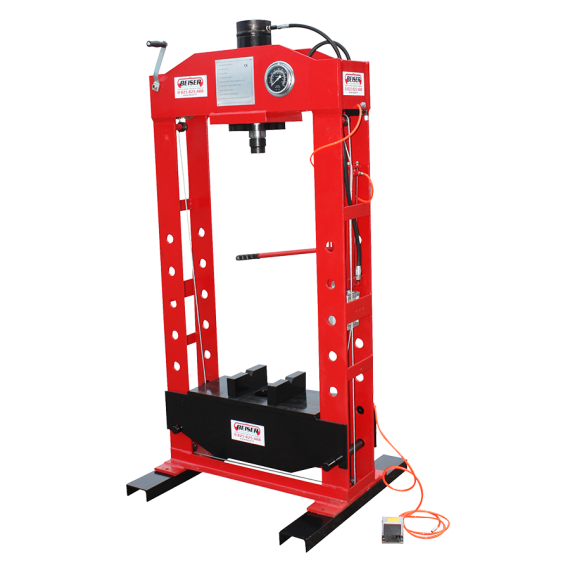 Presse d'atelier hydro-pneumatique 50T