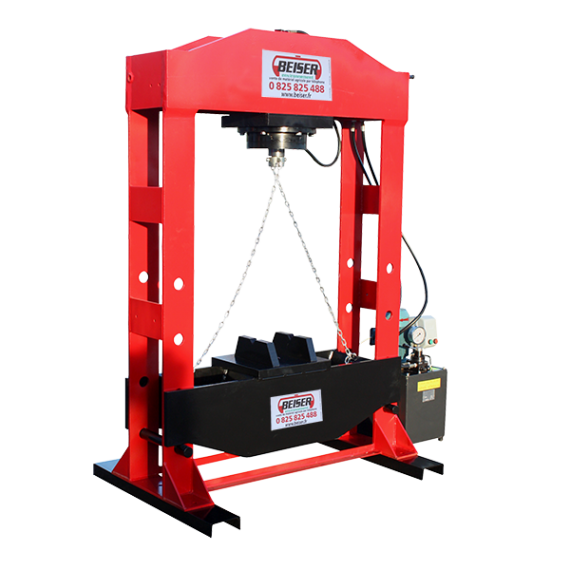 Presse d'atelier hydro-électrique 50 tonnes