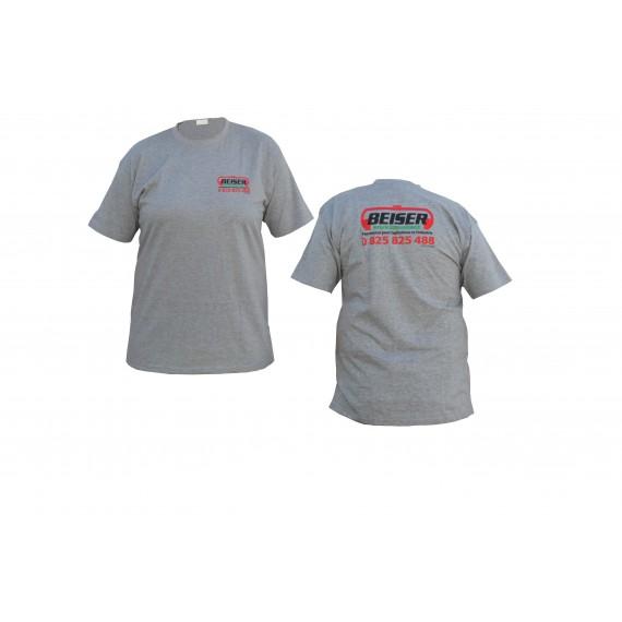 T-Shirt Beiser Environnement sport gris