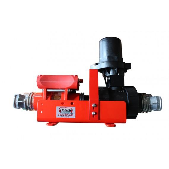 Compteur programmable pour eau et engrais liquide avec raccord pompier DN50