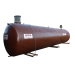 Beiser Environnement - station récupération eau de pluie simple paroi à enterrer 40000 litres (reconditionnée) avec pompe
