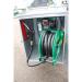 Beiser Environnement - Station fuel industrielle galvanisée avec enrouleur sécurisée 700 L - Point de vue détaillé