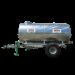 Beiser Environnement - Citerne galvanisée sur châssis galvanisé 3100 litres