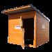 Beiser Environnement - Box à chevaux en bardage bois - Ouvert