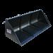 Beiser Environnement  - Godet de chargement hydraulique 1,50 m avec passages de fourches - Vue de face