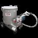 Beiser Environnement - Chariot mélangeur distributeur lait inox sur 4 roues 300 litres - Profil