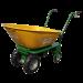 Beiser-Environnement - Brouette avec moteur électrique - vue de face