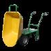 Beiser-Environnement - Brouette avec moteur électrique - vue ouvert