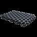 Beiser Environnement - Niche 1 veau polyester avec parc et caillebotis (niche) - Caillebotis