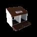Beiser Environnement - Pondoir à suspendre en kit 2 compartiments - Vue ouvert