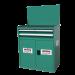 Beiser Environnement - Armoire d'atelier XE90-25MG - Fermée