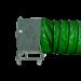Gaine pour ventilateur 800mm - En situation