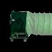 Ventilateur extracteur d'air mobile 800 mm - Avec gaine de ventilation
