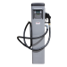 Distributeur de fuel à badges sur colonne 90L/min - Vue de face