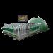 Beiser Environnementy - Niche collective 16 veaux igloo isolée 4 étoiles avec parc et abris sur roue