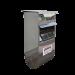 Beiser Environnement - Niche 1 veau polyester avec parc et caillebotis (niche+parc)