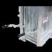 Cage de pesage 3 sorties pour ovins - poignées de transport
