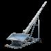 Beiser Environnement - Vis à grains sur chariot 12 m Ø 160