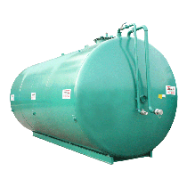 NN double wall steel nitrogen station, 70000L, Ø 2500 without pump