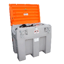 Transport pack 430L with protective cover