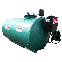 New secure fuel station 4000 L, double wall with low-cost 60 L/min pump