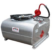 Aluminium petrol transport pack with pump, 250L