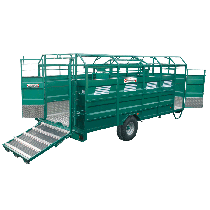 STEEL cattle truck with aluminium deck, Length 6,50 m, without options