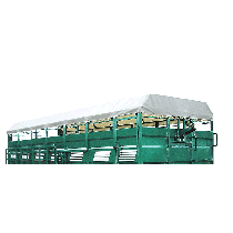 Tarpaulin for cattle truck, 5.50 m